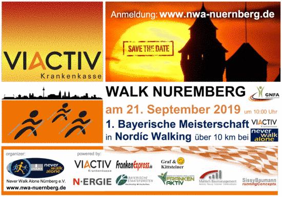 Nordic Walkin Park in Nürnberg